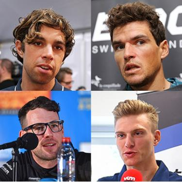 Which sprinter has the best hair at this year's Tour de France?You can vote in our Twitter poll here.