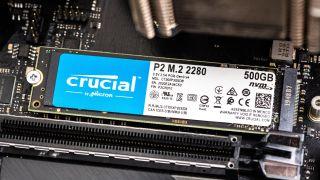 Crucial P2 M.2 NVMe SSD