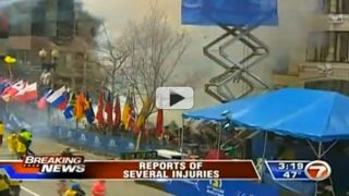 Explosions Near Finish Line of Boston Marathon