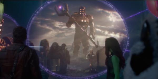 Celestials marvel, red armor giant