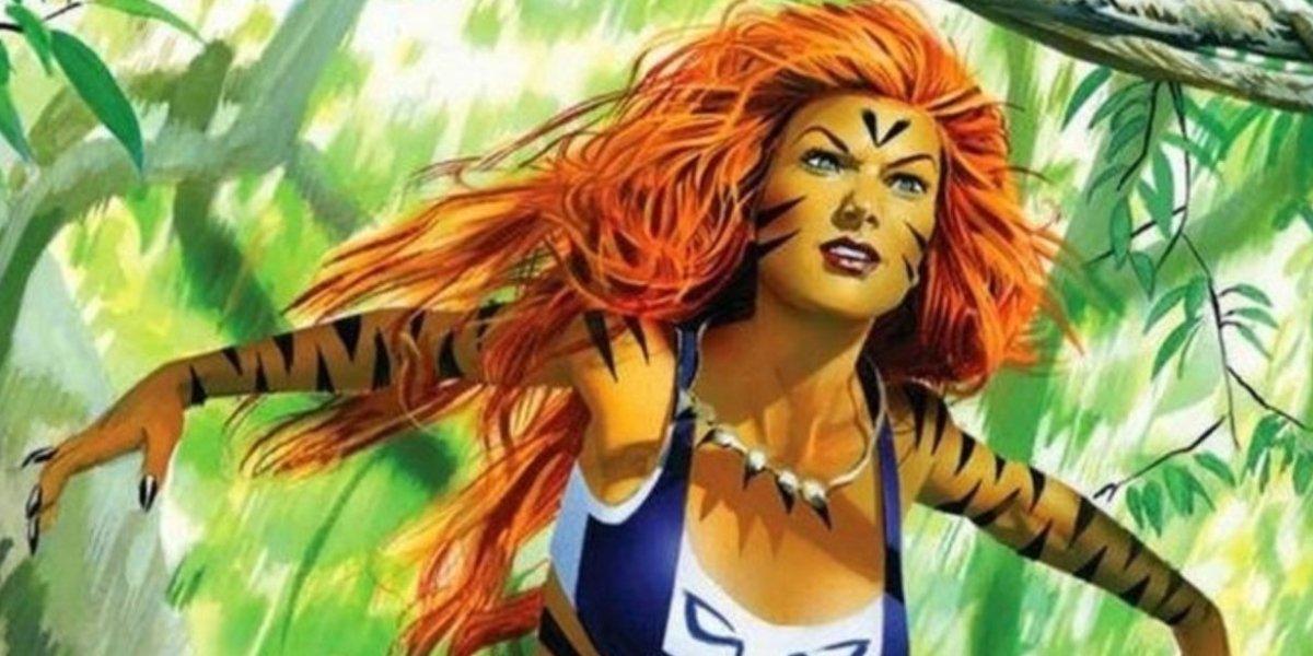 Marvel's half-woman, half-cat Tigra