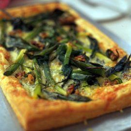 Cheesy leek puff tart-tart recipes-new recipes-recipe ideas-woman and home
