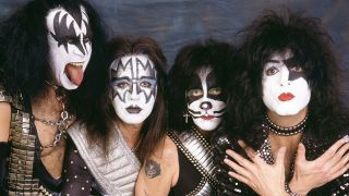 Kiss portrait