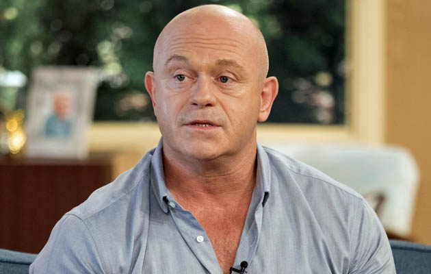ross kemp, this morning