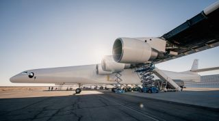 Stratolaunch engine test