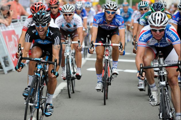 Russell Downing wins stage five, Tour de Wallonie 2010