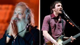 [L-R] Rick Rubin and John Frusciante