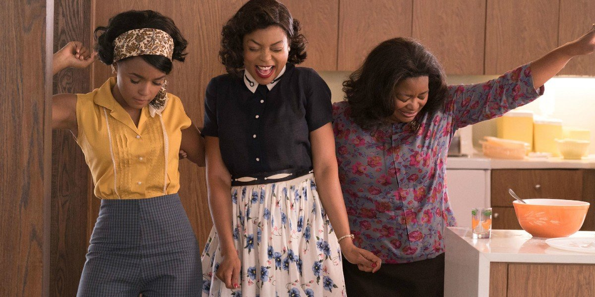 Taraji P. Henson, Octavia Spencer, and Janelle Monae in Hidden Figures