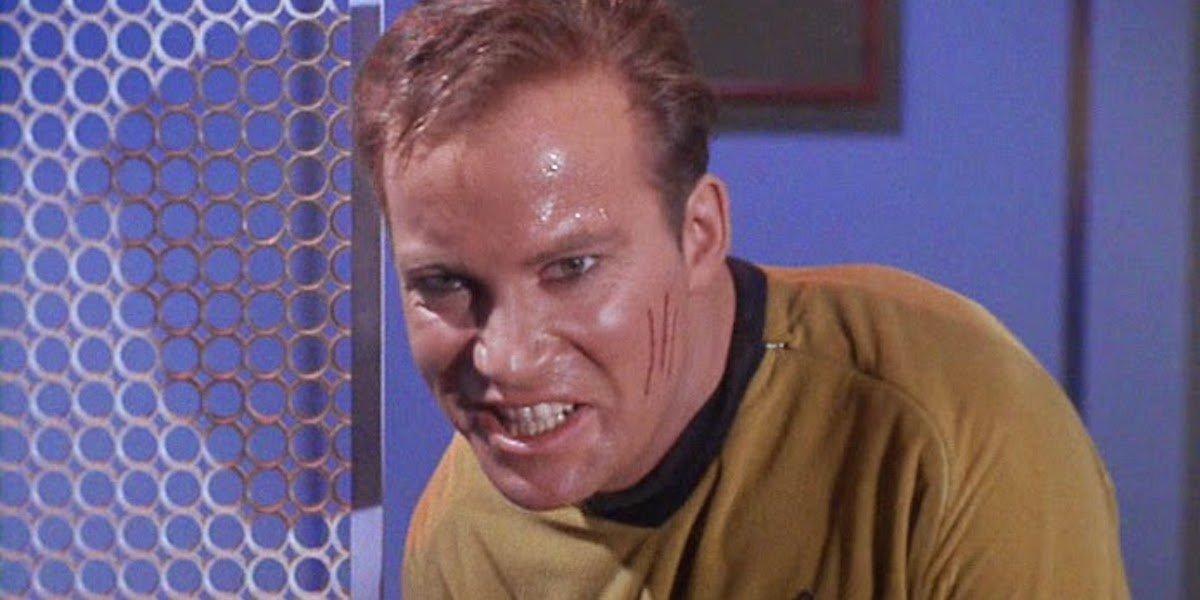 William Shatner's evil side in Star Trek episode The Enemy Within