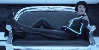 Olivia Wilde plays Quorra in Tron: Legacy.
