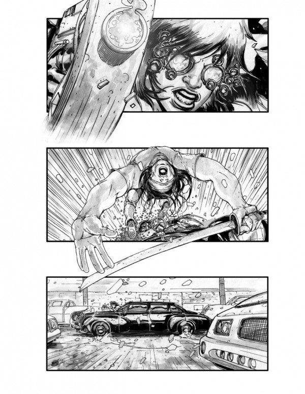 Neuromancer Storyboards Reveal Movie That Might Have Been #5300