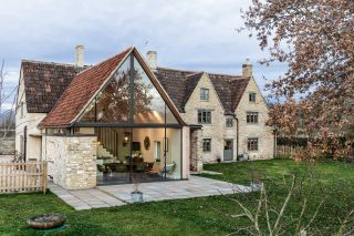 Modern cottage extension