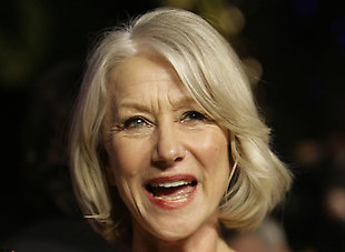 Dame Helen Mirren: 'Roles improve with age'