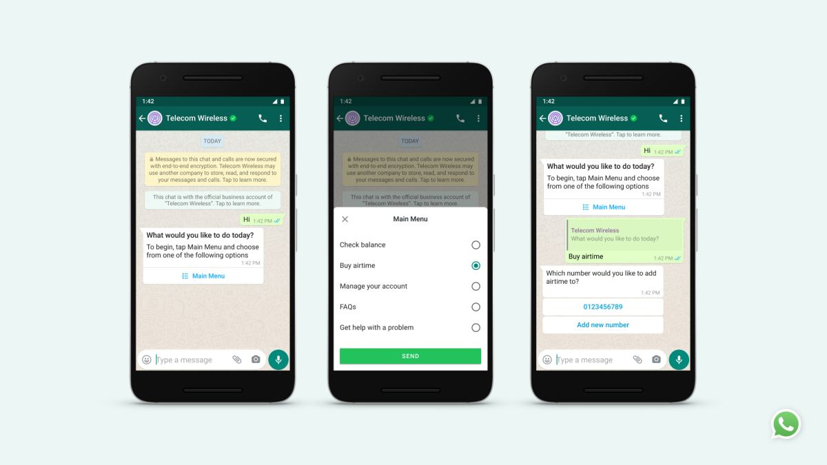 WhatsApp wants to make business messaging faster and easier