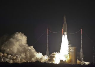 ATV-5 Launch to International Space Station 2