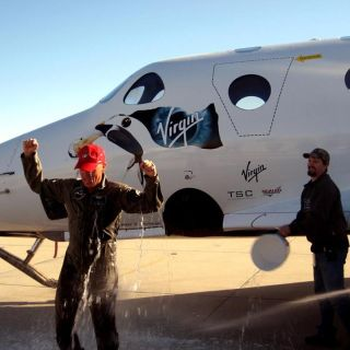 CJ Sturckow Flies SpaceShipTwo