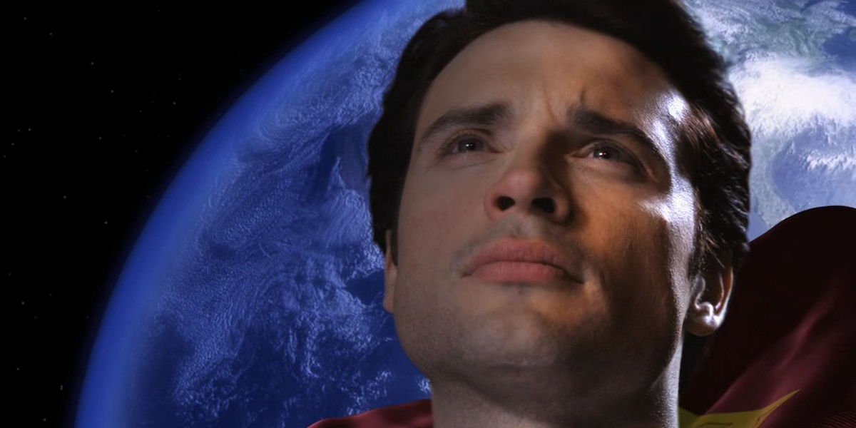 Tom Welling as Clark Kent/Superman in Smallville