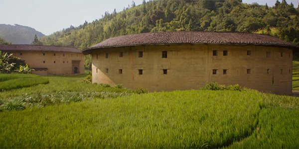 Tulou homes in the Mulan trailer