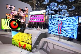 Samsung OLED TV at 2012 International CES