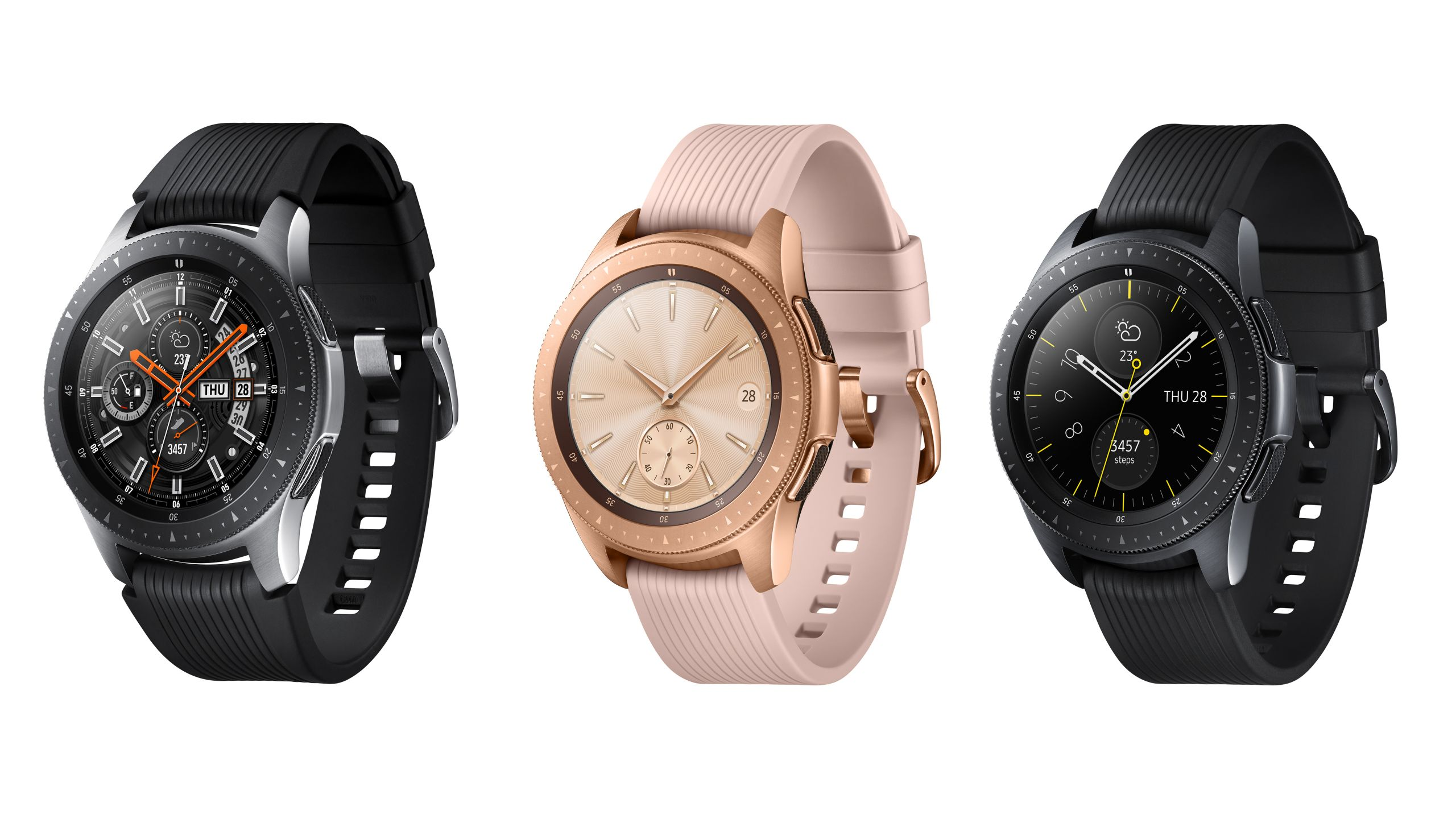 New Samsung Galaxy Watch to get stainless steel case and three ...