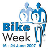 Bike Week 2007 logo