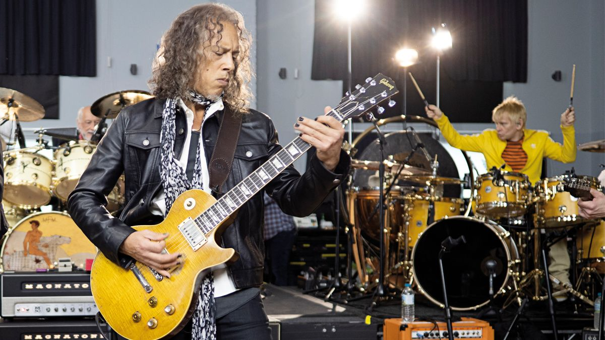 """Kirk Hammett: """"I love that Greeny has its own fanbase that's completely independent of me"""""""