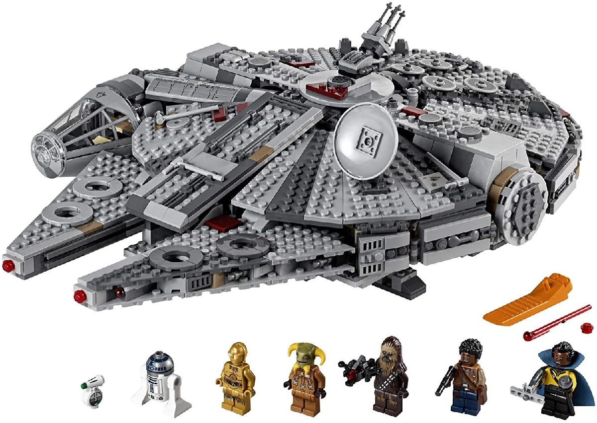 This Lego Star Wars Millennium Falcon set is over $31 off at Amazon right now