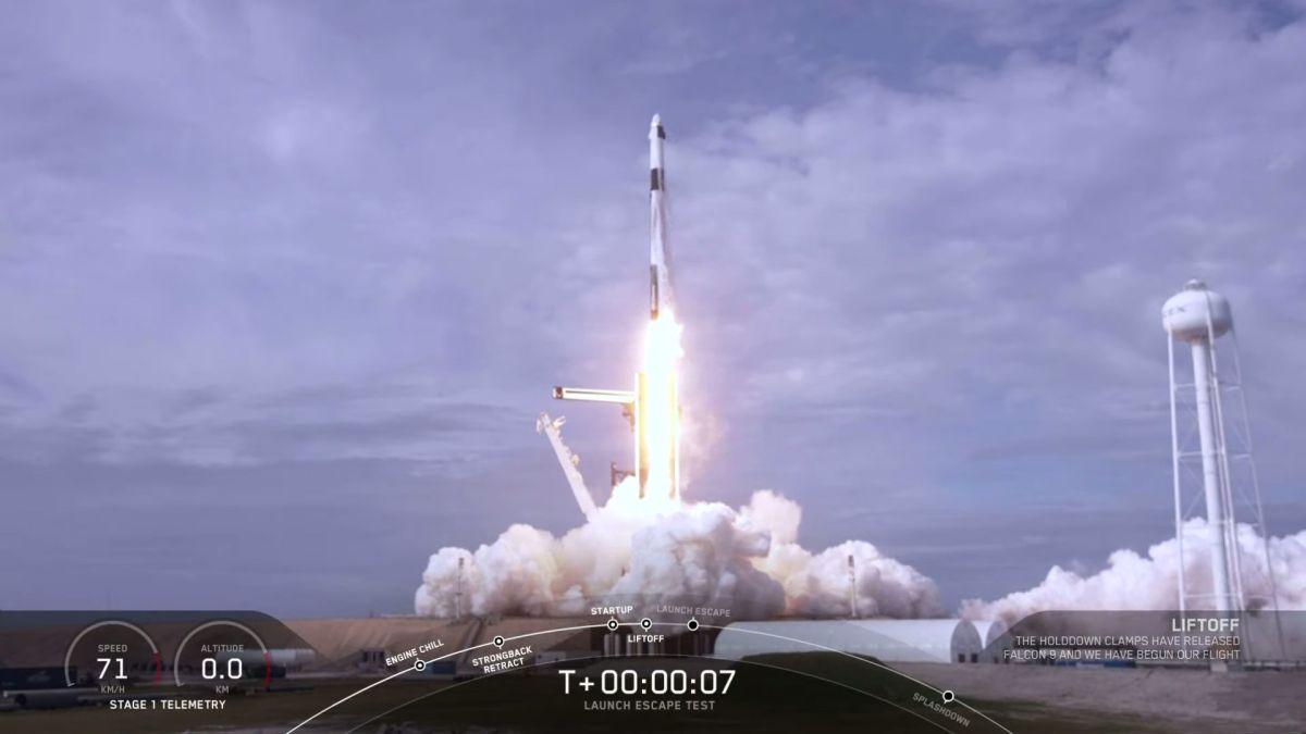 next rocket launch 2020
