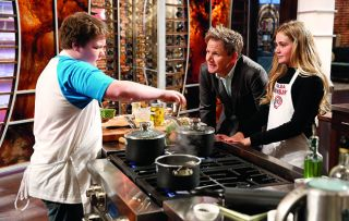 Famed for his potty mouth, Gordon Ramsay is not the obvious choice to be host of a kids' cooking competition.