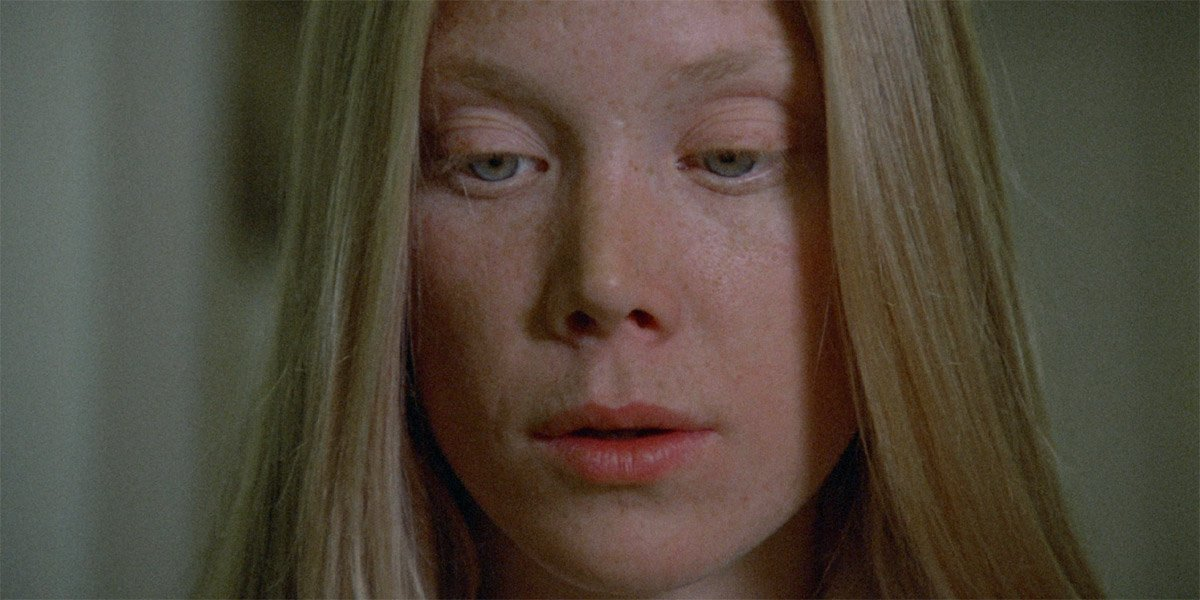 Sissy Spacek as Carrie White closeup in Carrie