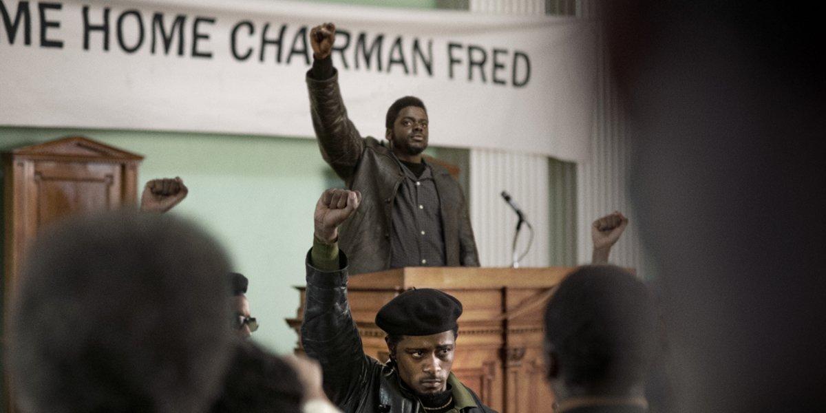 Judas and the Black Messiah Daniel Kaluuya and Lakeith Stanfield