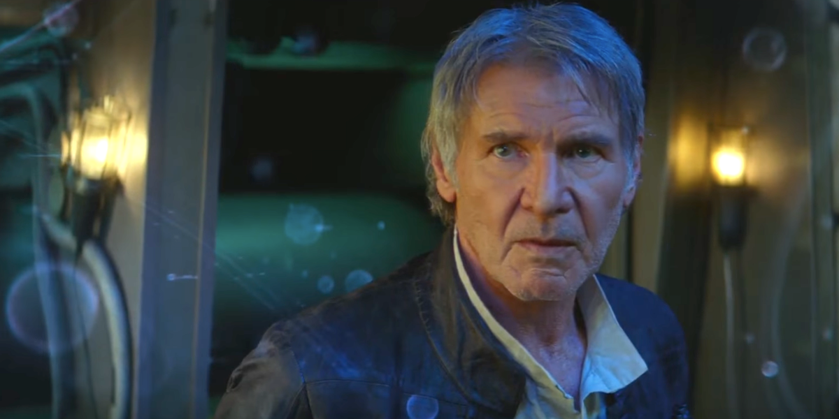 harrison ford the force awakens
