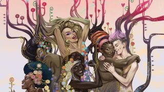 Embodied is a collaboration between cis female, trans, and non-binary poets and comics artists