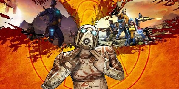 The cover to Borderlands 2.