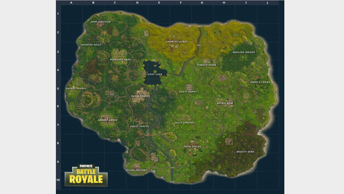 Fortnite Battle Royales Map Is New And Improved With More
