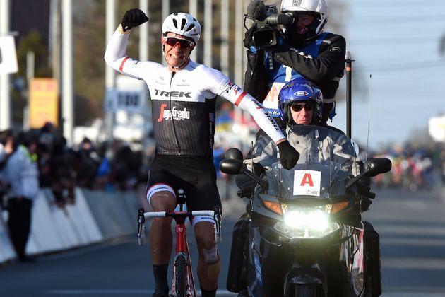 Jasper Stuyven wins the 2016 Kuurne-Brussels-Kuurne