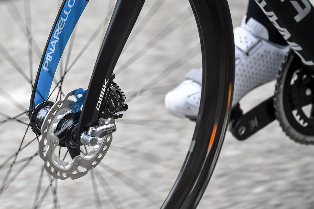 What do pro riders think of disc brakes?