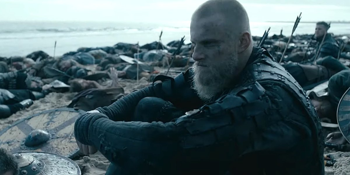 Vikings Season 6 trailer Bjorn Ivar on the beach