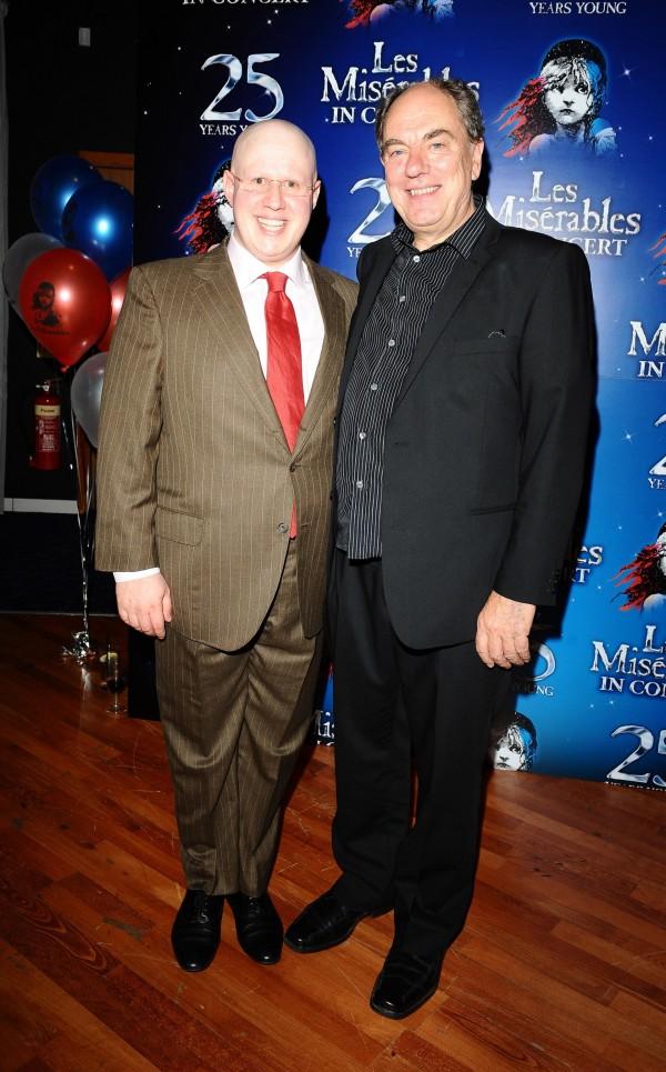 Alun Armstrong and Matt Lucas