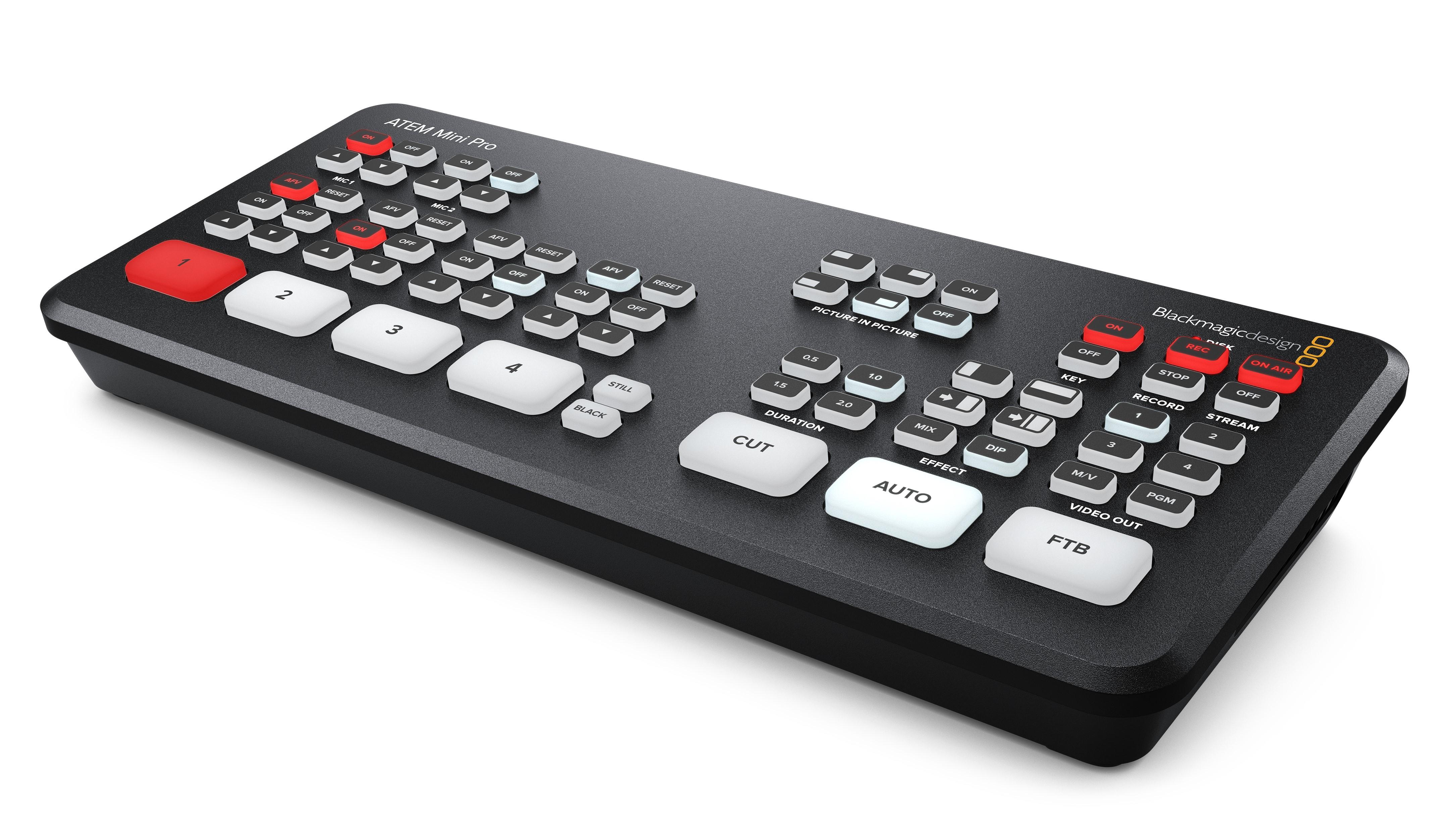 Blackmagic Design Shares Live Production Announcements Tv Technology