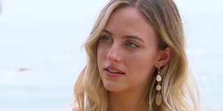 Bachelor in Paradise Kendall Long talks to Joe Amabile (not pictured)