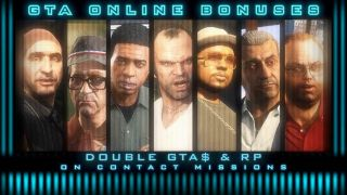 GTA Online patch notes: Double rewards on Contact Missions and a