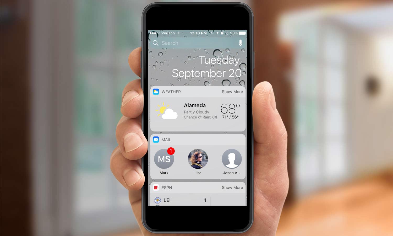 Best iOS 10 Widgets   Tom's Guide