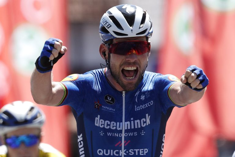 Mark Cavendish won a stage at the Belgium Tour