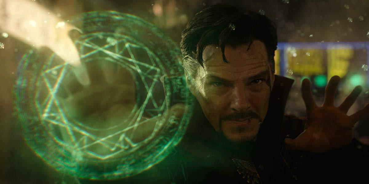 Doctor Strange in battle