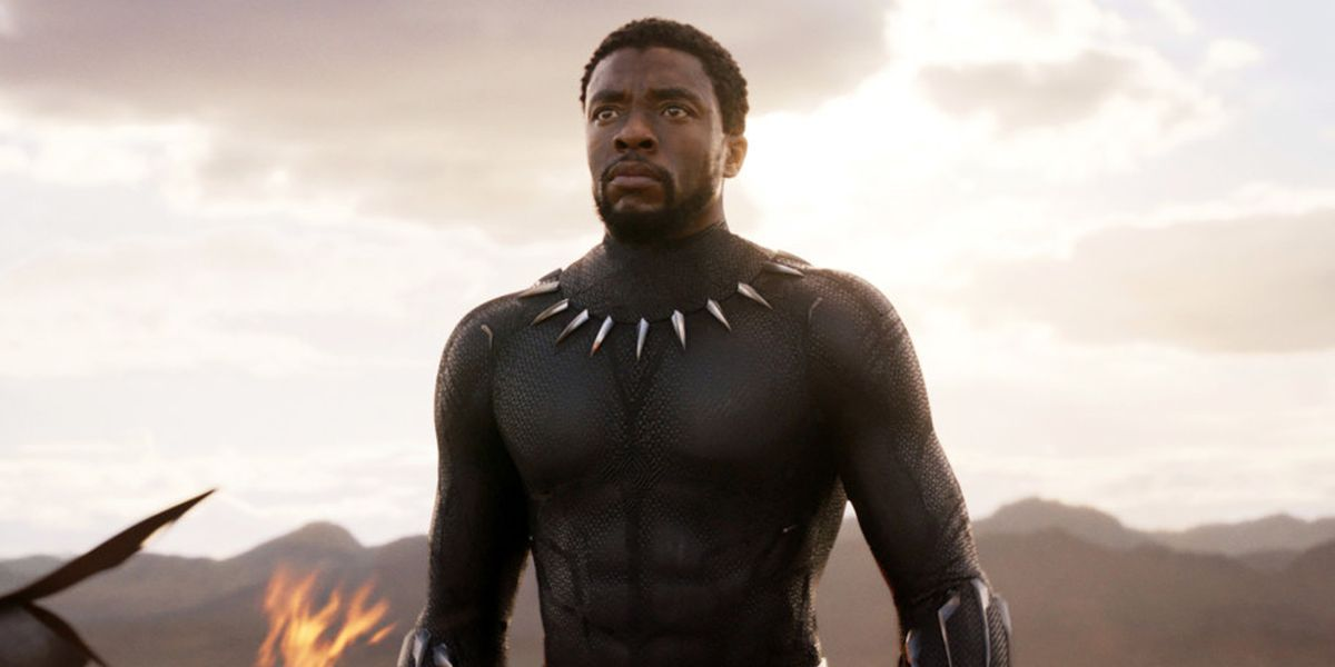 Denzel Washington Recalls Getting Emotional When He Saw Chadwick Boseman At The Black Panther Premiere - CinemaBlend