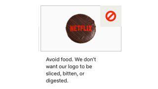 Netflix logo guideline