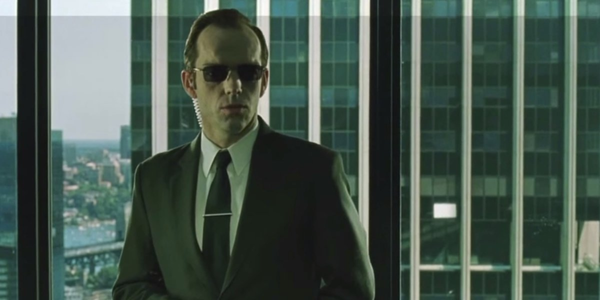 No, Hugo Weaving Won't Be Back As Agent Smith In The Matrix 4 - CINEMABLEND