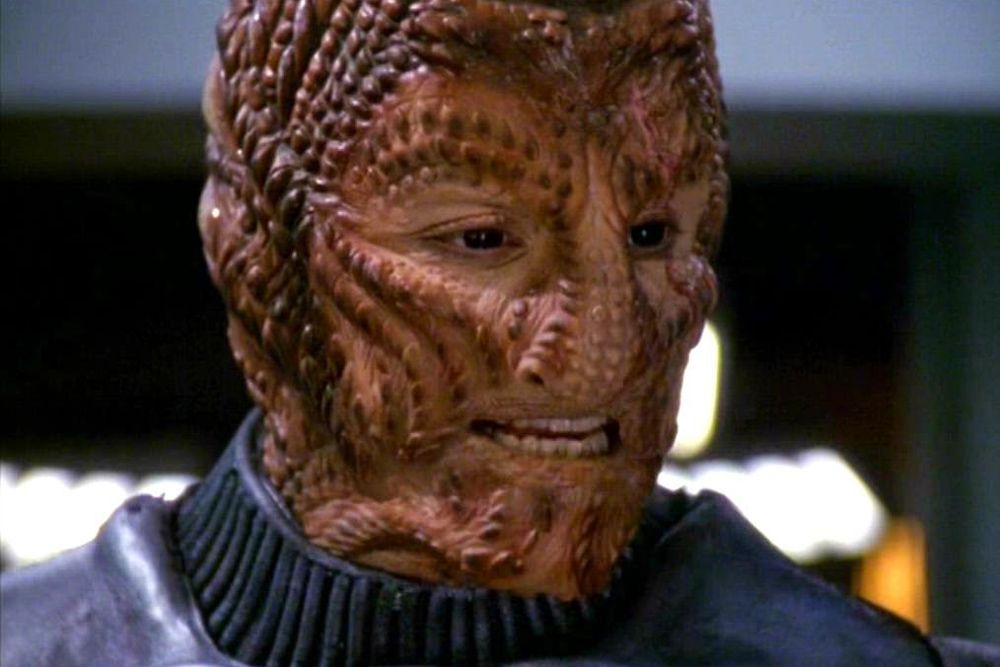 15 Of The Most Bizarre Alien Species Featured In Star Trek Space