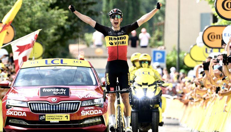 Wout van Aert wins Tour de France 2021 stage 11
